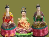 大型佛像雕塑公司 三霄娘娘神像 女娲娘娘 地母娘娘 顺天圣母