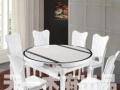 实木海盗子母床,香樟木头沙发,白色玻璃餐桌