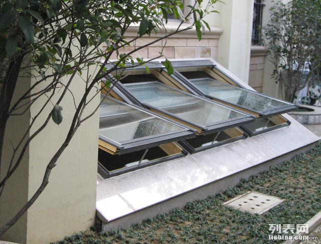 南京地下室采光井制作别墅地下室通风采光