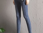 新款弹力牛仔裤女铅笔裤高腰修身显瘦牛仔裤批发地摊货源牛仔裤