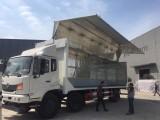 广州9.6米3类液体带飞翼危险品厢式运输车购车电话