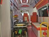 潮州长途救护车出租,患者坐高铁