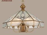 【企业集采】 卓尔特欧式全铜焊锡灯 餐厅吊灯书房灯 一件代发