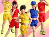 小苹果儿童演出服 男女DS亮片爵士街舞热舞舞蹈表演服长中短款