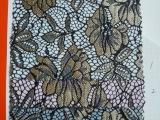 亨通针织 蕾丝复合布料 时尚女装用面料 涤纶+氨纶织造而成