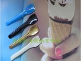 天津七彩冰激淋勺 冰激淋铲 慕斯勺 慕斯铲 一次性勺 塑料勺