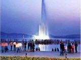 音乐喷泉漂浮喷泉漂浮式喷泉湖面人工湖河道喷泉水幕电影喷泉制作