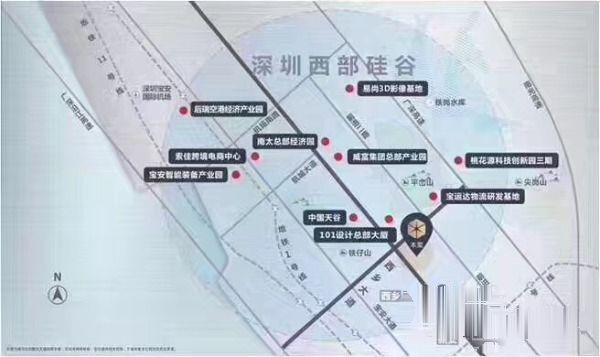 深圳西部硅谷商务新中/心-恒荣立方中/心不限.购!不.限