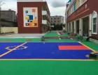 乙烯复合砖安装车库地板的预算-郑州运动场地坪