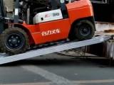 盐城大象牌3.8米高强度防滑款叉车铝梯