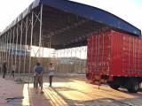常州天宁PVC帆布推拉蓬 移动仓库折叠帐篷 活动雨棚设计制作