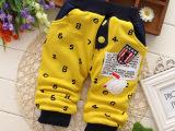 童裤 14年冬季新款韩版热销小童打底裤 厂家直销男童针织裤 童装