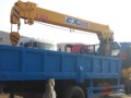 东风福瑞卡随车吊装配长兴3.5吨吊机 厂家直销 价格低廉!