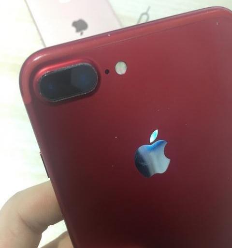 苹果7plus128g国行红色