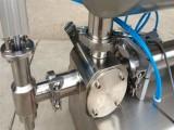 济南沃发气动沙茶酱灌装机 双头型不锈钢制造