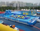淄博充气游泳池漏气