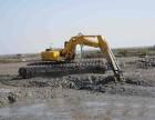 包头市和平区湿地挖掘机出租水上挖机租赁