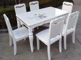 全新欧式餐桌椅,实木餐桌,现货批发