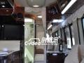 福特E350房车室内装潢,加装豪华实木地板