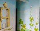 样板房彩绘清水房彩绘墙上画画情景样板房