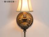 热卖高档室内卧室床头壁灯 创意led酒吧镜前灯 欧式单头壁灯批发