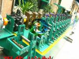 广东不锈钢工业管制管机 圆管变方管制管机 高频焊管机接生产线