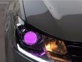 福州猫头鹰改灯 大众15款朗行车灯升级氙气灯透镜