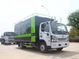 深圳国六东风污水处理车现场作业