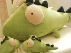 特可爱卡通小鳄鱼恐龙毛绒公仔抱枕汽车除味竹炭包活性炭创意