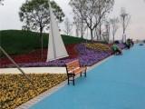 漯河透水混凝土 园林彩色路面铺装