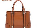 厂家直销2014新款潮女士包包单肩斜挎手提包真皮时尚女包复古大包