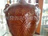 四川泸州酒瓶厂家 通用土陶酒瓶批发