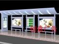 资阳太阳能自动充电环保公交车候车亭广告灯箱厂家宣传