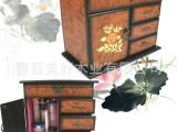 曹县直销热卖高档木质化妆品收纳盒 精美zakka收纳定制 物美价