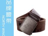 2012新款 棕色 帆布编织 纯棉腰带 厂家直销 外贸原单 EF