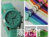 大量现货清仓 日内瓦硅胶手表 15个颜色齐全 硅胶手表厂家批发