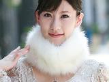 一件代发!E211女士2015冬季保暖毛绒绒围巾装饰韩版围脖假领