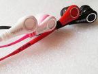迷你灵魂 sl59入耳式耳机 面条扁线双色 MP3耳机 批发手机耳机