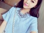 2014春款韩国多色蝙蝠袖/短袖蕾丝上衣