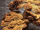 崖柏松鹤延年根雕摆件油性十足木雕根摆工艺品