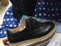 明星同款全新厚底复古风女鞋