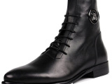 2013新款英伦中筒靴 真皮男靴 高帮皮鞋批发 上班皮鞋潮流男鞋