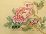 教中小学生学习中国画一一西安德厚堂画室
