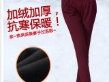 2015哈伦裤小脚休闲长裤秋冬款加绒加厚胖MM大码女裤