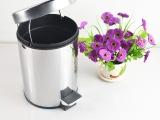 淘宝一件代发特厚0.5MM不锈钢垃圾桶脚踏式卫生间筒厨房拉圾桶