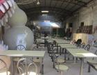 东莞玻璃钢餐桌/新塘周边望牛墩餐桌