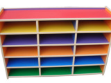 批发儿童玩具柜 家庭小型收纳架 幼儿玩具架置物箱儿童书包柜