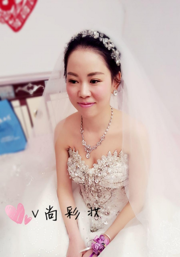 V尚彩妆 新娘跟妆 高端新娘