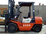 上海黄浦二手10吨电动仓储叉车柴油叉车