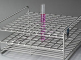 YC试管架 不锈钢试管架 实验室放置架 实验室试管架